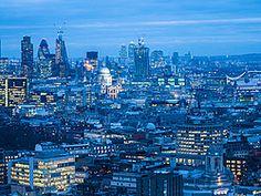 Londres al anochecer