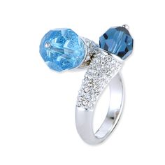 Bombata Crystal Ring  #Crystal, #ring  http://www.playbling.com/en/crystal-jewelry/bombata-crystal-ring-200.html