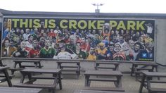 All the counties represented on new artwork outside the GAA Museum at Croke Park. Croke Park, The Outsiders, Museum, Events, Celebrities, Artwork, Happenings, Work Of Art, Celebs
