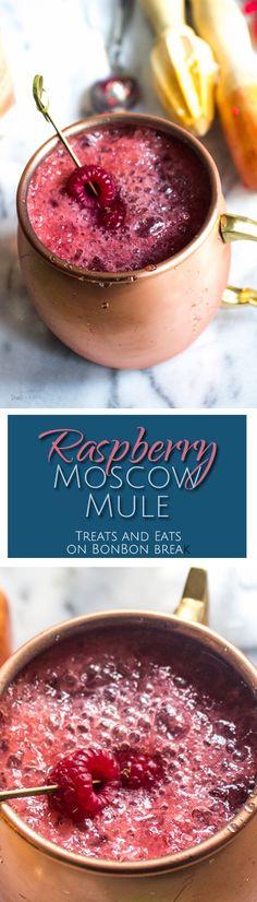Raspberry Moscow Mule | BonBon Break