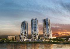 Pétalas inspiram novo projeto residencial de Zaha Hadid