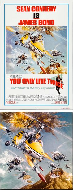ROBERT McGINNIS - You Only Live Twice - 1980 United Artists - poster by fineart.ha.com - print by google