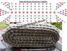 I ALSO ... CROCHETO: Grey Purse course in Trapilho