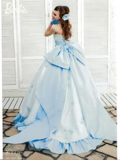 cute light blue dress ♡