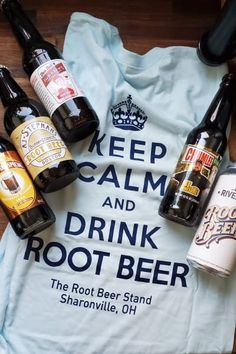 Keep Calm and Drink Root Beer Best Root Beer, Strawberry Rhubarb Pie, Beer Day, Roasted Strawberries, Keep Calm And Drink, Chicken Stuffed Peppers, Tap Room, Blog Love, Slow Cooker Beef