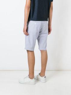 Edwin striped bermuda shorts