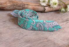 Light Sea Green Mint Tie / Men's skinny tie / by TheBestBoysTies, $23.70
