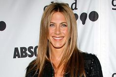 Tip: For hair that is fine and straight, try a haircut with a few long (not short) layers like Aniston's. But be careful: Too many layers can thin out the bottom of your hair, which makes you look like you have less of it.