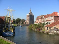 City landscape Enkhuizen #Netherlands