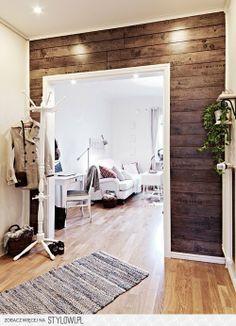 Ściana z drewna <3