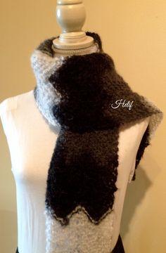 Nouveauté,Étole Chauffe Épaules,écharpe noir,gris,blanc,Ana Karenine : Echarpe, foulard, cravate par segalita2