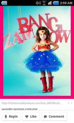 Costume for girls