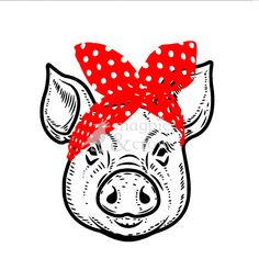 Check out our pig svg selection for the very best in unique or custom, handmade pieces from our shops. Diy Crafts List, Diy Crafts To Sell, Kids Silhouette, Silhouette Cameo, Vinyl Monogram, Rosie The Riveter, Cricut Creations, Vinyl Crafts, Craft Fairs