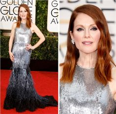Golden Globe 2015: Julianne Moore - Fashionismo #PAETES #FocusTextil
