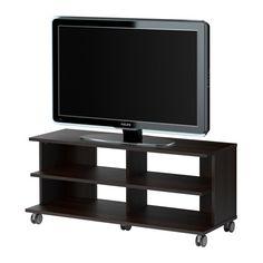 benno mobile tv con rotelle ikea grazie alle rotelle incluse, il ... - Mobili Tv Con Rotelle