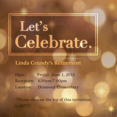 Elegant Chalkboard Retirement Party Invitation Template Retirement - Celebrate it invitation templates