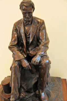 Abraham Lincoln Sculpture at Lincoln Cottage Museum