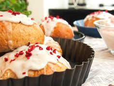 Sukkerfri og proteinrike fastelavensboller; bakt uten helsekostprdukter - Fitfocuse