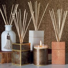 Faux Shagreen Fragrance Diffuser Holder