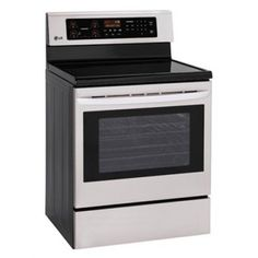 "LG 30"" Free Standing Electric Range-Stainless Steel-LRE3021ST Home Appliances, Kitchen Appliances, in Findlay, OH 454840"