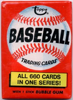 Vintage Sportscards: Topps Wax - 1971-'80