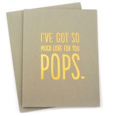 Father's Day is next, everyone! Tell your Pops how much you love him with this cool card!  www.mooreaseal.com