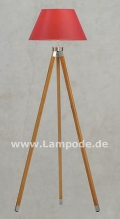 Stehlampe Dreibein Tripod Lamp, Designer, Home Decor, Silver Ash, Natural Colors, Floor Lamp Base, Spot Lights, Legs, Decoration Home