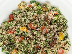 Quinoa Tabbouleh  A simple yet flavorful way to replenish post-workout.    This recipe is based on Equinox Nutrition Pillar Five — Fuel Properly Pre- and Post-Workout —and was created by the culinary minds at theTasting TableTest Kitchen.