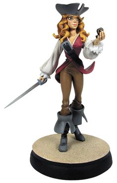 FEMALE ANIMATED PIRATES | PIRATES OF THE CARIBBEAN FIGURES, COLLECTABLES, Calendar Toy Action ...