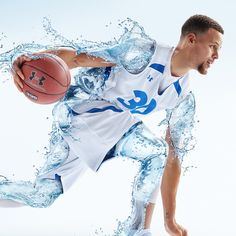 Drink Amazing: Steph Curry for Brita Water Filters | Inspiration Grid | Design Inspiration