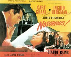 """Title Card, """"Notorious,"""" 1946."""