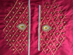 Peacock Blouse Designs, Brocade Blouse Designs, Pattu Saree Blouse Designs, Simple Blouse Designs, Designer Blouse Patterns, Bridal Blouse Designs, Hand Work Blouse Design, Border Embroidery Designs, Blouses