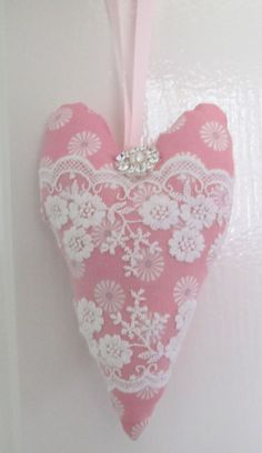 Bridal Gift Christening Gift Padded Hanging by AwfyBrawJewellery