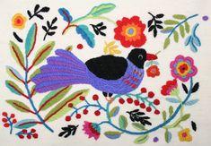 """""""Laululintu"""" = Songbird pillow"""