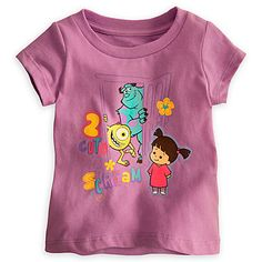 Monsters, Inc. Tee for Baby | Tees, Tops & Shirts | Disney Store