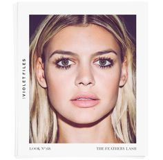 The Feathery Lash with Kelly Rohrback l Makeup artist Kayleen McAdams & hairstylist Kylee Heath reveal the secrets behind Kelly Rohrbach's beachy mane and lush lashes l Violet Looks l The Violet Files l @violetgrey