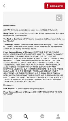 Lol yes. I think the Percy Jackson fandom is only beaten by the Sherlockians and the Merlin Fandom. XD it was pretty torturous though.