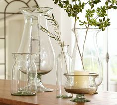 Recycled Glass Vases | Pottery Barn
