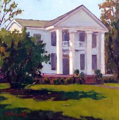 painted in plein air in Orrville, Alabama (at the Selma Pilgrimage 2012) ~sold