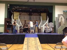 Blessed Sacrament  Children's theater Beauty and the Beast Tavern scene