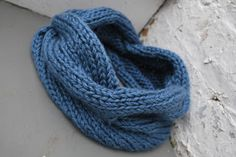 Quick Knitted Cabled Cowl Pattern | A Crafty House: Knitting and Crochet Patterns and Crafts