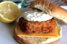 Filet-o-Fish!   hilahcooking.com #Better-than-Mickey-D #seafood #lent