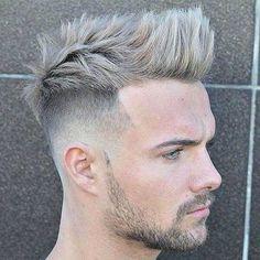 Dicke Haarschnitt für Männer