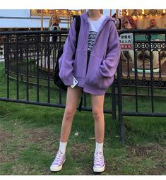 Korean fashion purple purple fashion purple aesthetic purple ulzzang fashion purple outfits purple outfits purple dress purple skirt purple hoodie purple shirt purple ethereal fashion L e l i a L' a r t Lila Outfits, Purple Outfits, Korean Outfits, Cute Casual Outfits, Pretty Outfits, Aesthetic Fashion, Look Fashion, Aesthetic Clothes, Fashion Outfits