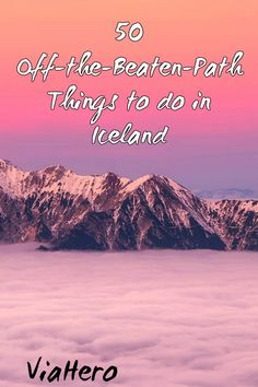 You've booked your plane tickets for your trip to Iceland - congratulations! But the question remains: what are you going to do with each day? Will you soak in hot springs? Will you go ice climbing? The possibilities can seem endless. Here's our ultimate list of things to do in Iceland to inspire your itinerary.