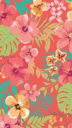 Coral wallpaper, summer wallpaper, love wallpaper, pattern wallpaper, phone b Coral Wallpaper, Tropical Wallpaper, Summer Wallpaper, Print Wallpaper, Flower Wallpaper, Screen Wallpaper, Pattern Wallpaper, Pink Nation Wallpaper, Tumblr Backgrounds