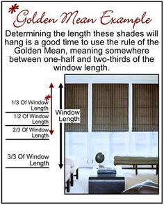 Using The Golden Mean To Install A Chair Rail