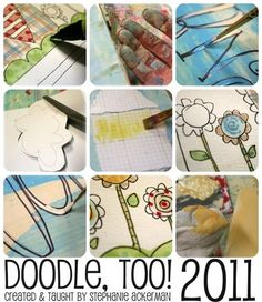 An online class by Stephanie Ackerman on doodling