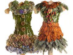Des robes végétales - BTS Aménagements Paysagers Bougainville