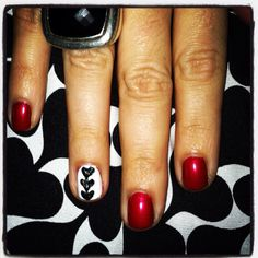 Diane Von Furstenberg, meet... Diane Von Furstenberg (nails, that is)